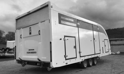 Enclosed Race Transporter Trailers